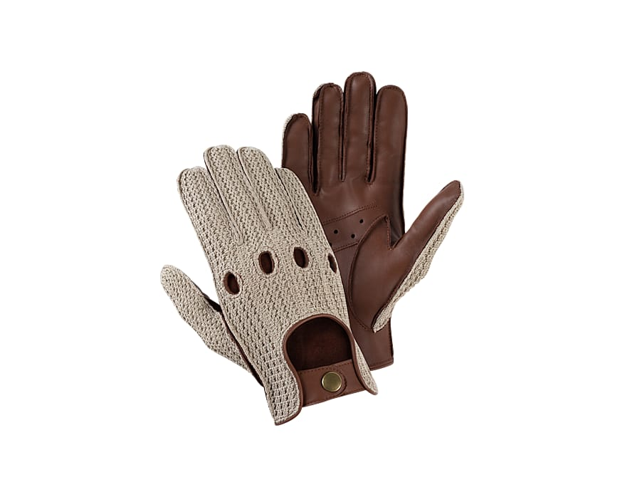Brown Driving Gloves Jort