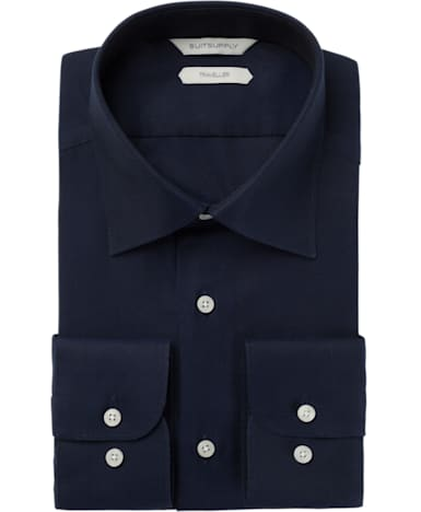 Navy Plain Traveller Shirt