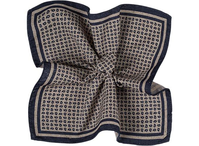 Pocket Square Light Brown