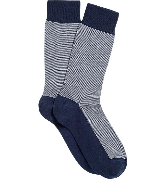 Blue Regular Socks