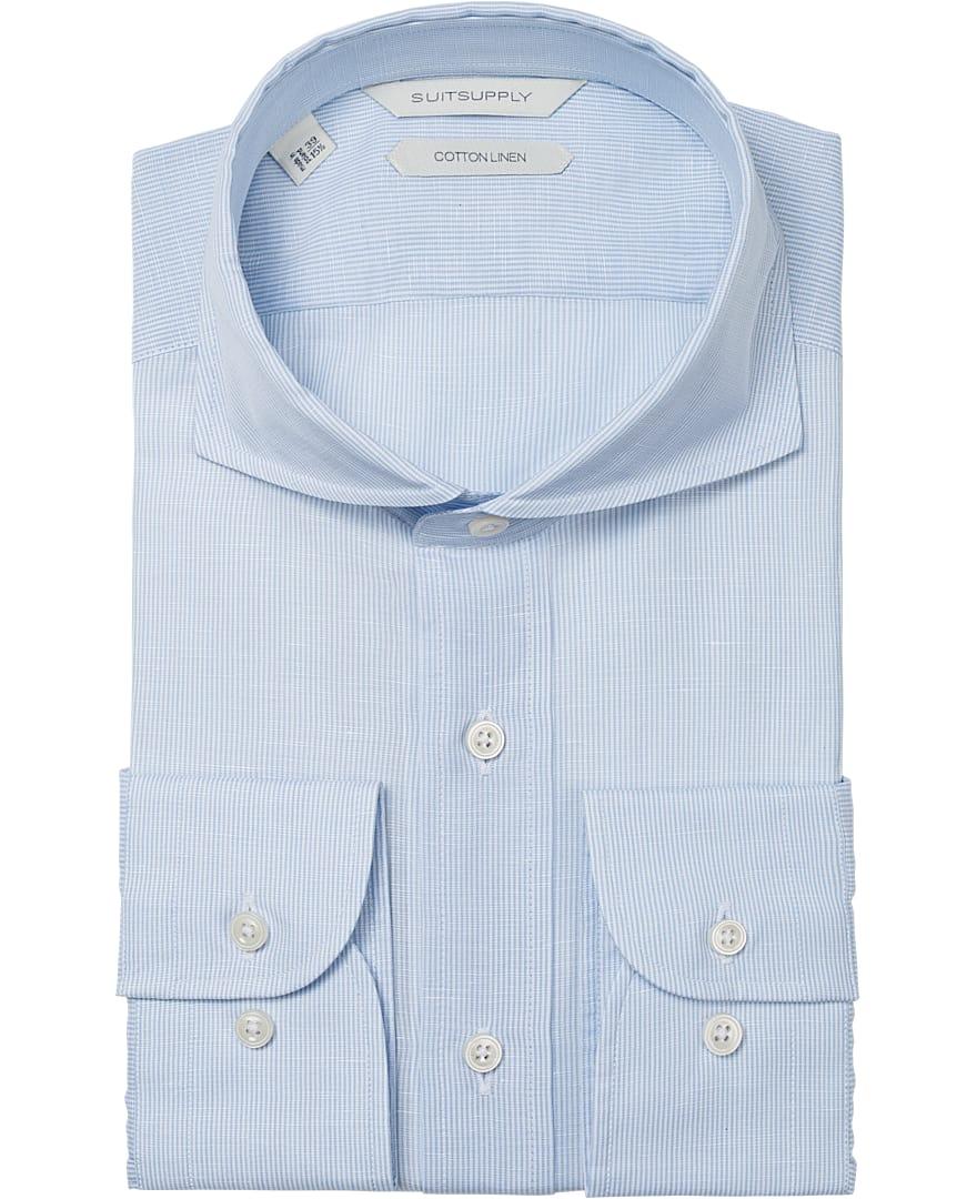 Light Blue Stripe Shirt