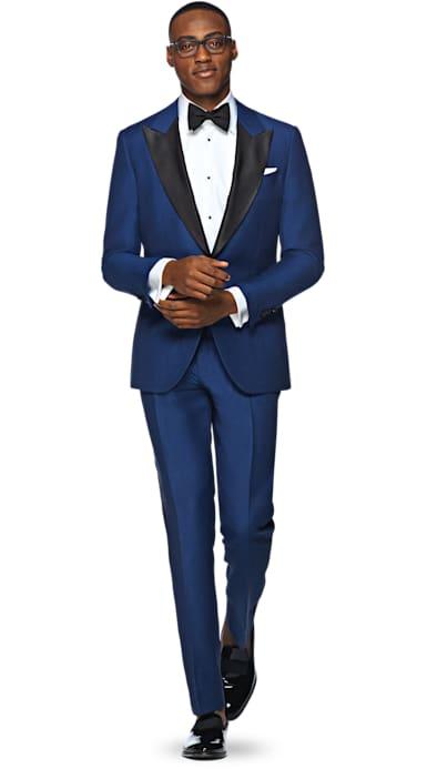 Blue Plain Tuxedo