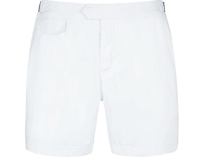 White Swim Shorts